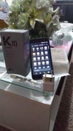 LG k 10 power com TV digital.