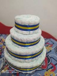 Vendo bolo de fraldas