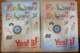 Livros de Inglês Expkorers curso YES