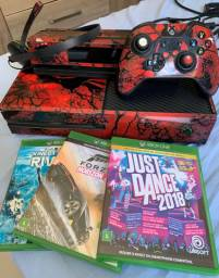 Xbox one + kinect e 3 jogos