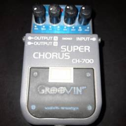 Pedal Super Chorus Groovin Na Musical Brother