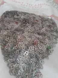Lacre de latinha de alumínio