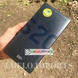 Galaxy S20+ Plus 128GB Black   Impecável e Completo   Garantia até Agosto/2021