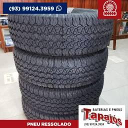 Pneu Ressolado 255/75R15