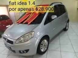 FIAT IDEA ATRATIVE 1.4 COMPLETAÇO QUITADO E SELADO COM IPVA PAGO