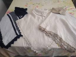 Ponchos de lã