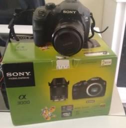 Camera sonny semi profissional alpha 3000 Patos PB