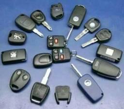 Conserto de Controles de Alarmes e Chaves Codificadas
