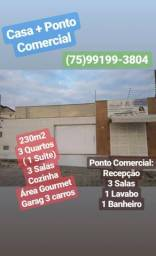 Casa + Ponto Comercial