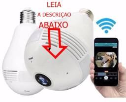 Lampada led camera espiâ wifi full hd bivot