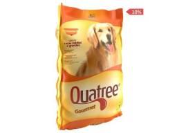 Frete Grátis* Ração Quatree Gourmet para Cães Adultos de Raças Médias e Grandes 25 kg