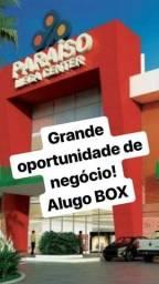 Alugo Box Shopping Paraíso Mega Center