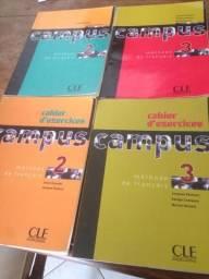 Livros adotados Aliança Francesa