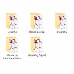Curso de Design Gráfico, Desenho e Fotografia e Marketing