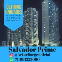 1/4 e sala no Salvador Prime na Av. Tancredo Neves R$ 267.000,00
