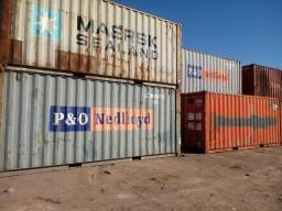 Containers DC20 em Suape PE