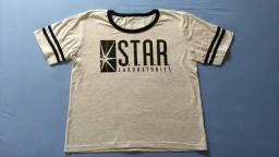 Camiseta nova Star Laboratories - tam M