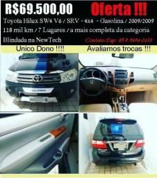 Toyota SW4 4x4 7 Lugares-Blindada (Oferta !!!) - 2009