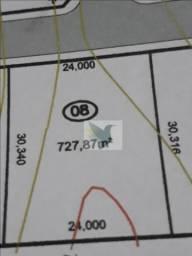 Terreno à venda, 727 m² por r$ 218.361 - rodovia do peixe
