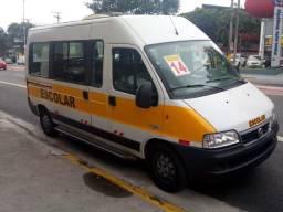 Fiat Ducato Escolar Ônibus 2014 Teto Alto 28 Lugares
