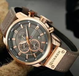 CURREN 8250 Relógio Casual Quartz de Homens