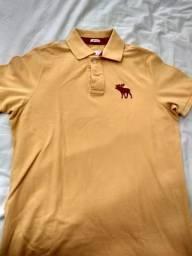 690af6ca55 Camisa Polo Abercrombie Fitch original
