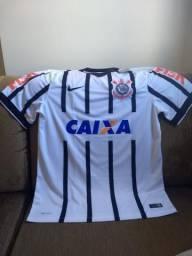 254e7f76c7245 Camisa Do Corinthians 2013 - Oficial Nike Caixa Fisk - Tam G