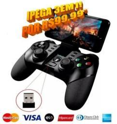 Controle Joystick Ipega 9076 Celular Android Iphone Pc Ps3