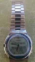 888114569272 Relógio Casio Abx 210 Twincept Vintage Raro