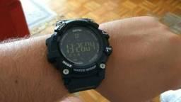 d2d54b6277b Relógio Digital Skmei 1227 inteligente Bluetooth Smart Watch ( Novo Na  Caixa )