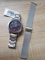 24891e07b Kit Relógio Condor Feminino CO2036KUP/T3G Mega Liquidação R$ 125,00