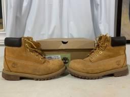 Bota Infantil Yellow Boot Timberland Tamanho 30