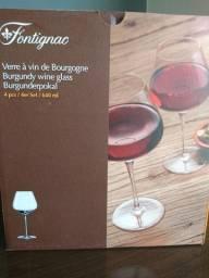 Jogo de Taças para Vinho Tinto 4 Peças Fontignac (Três Lagoas)