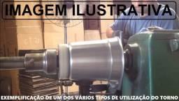Torno para Madeira ou Repuxo em Lata - Fabricar Panelas / Luminárias