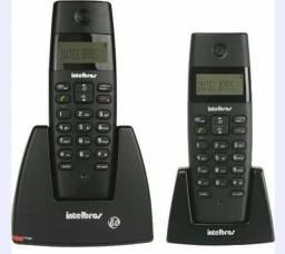 TELEFONE COM RAMAL E ID CHAMADAS INTELBRAS