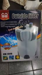 Canister SunSun 1400 L/H Com filtragem UV!