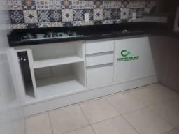 Balcão gabinete para cozinha em MDF