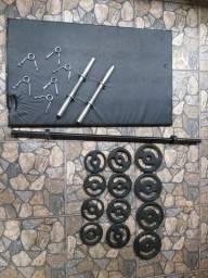 Kit treino e musculação