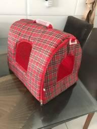Bolsa/caixa para transporte de pets