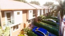 Casa Geminada duplex+ área privativa+2 Vags-em Planície da Serra.E.S