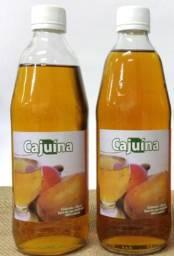 Bebida deliciosa de suco de caju