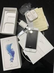 IPhone 6s 32GB prata muito novo