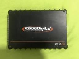 Soundigital 800.4, tampão palio sapão, usado comprar usado  Brasília
