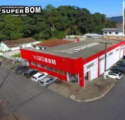 Supermercado c/ mercadoria, maquinário, mobília, galpão, ponto comercial em Três Barras/SC