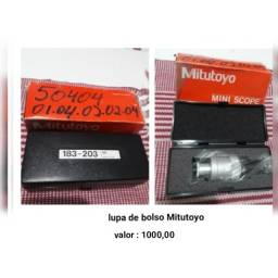 Lupa de bolso - Precisão - Mitutoyo nova na caixa!