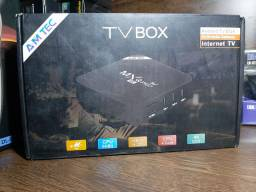 TV Box Transforma sua TV Em Smart TV 4K
