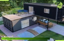 Casa com 120m² - Container DRY