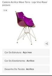 Cadeiras Walve Torre Acrílico.