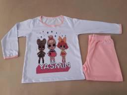 Pijama infantil  personalizada como desejar