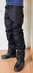 Calça motociclista Motosky com proteção tamanho S